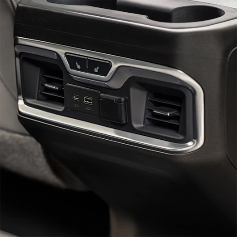 2019 GMC Sierra Middle Console
