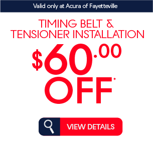 Timing Belt Tensioner installation $60 off* view details