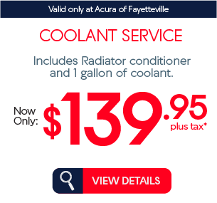 coolant service now only $139.95 plus tax* view details