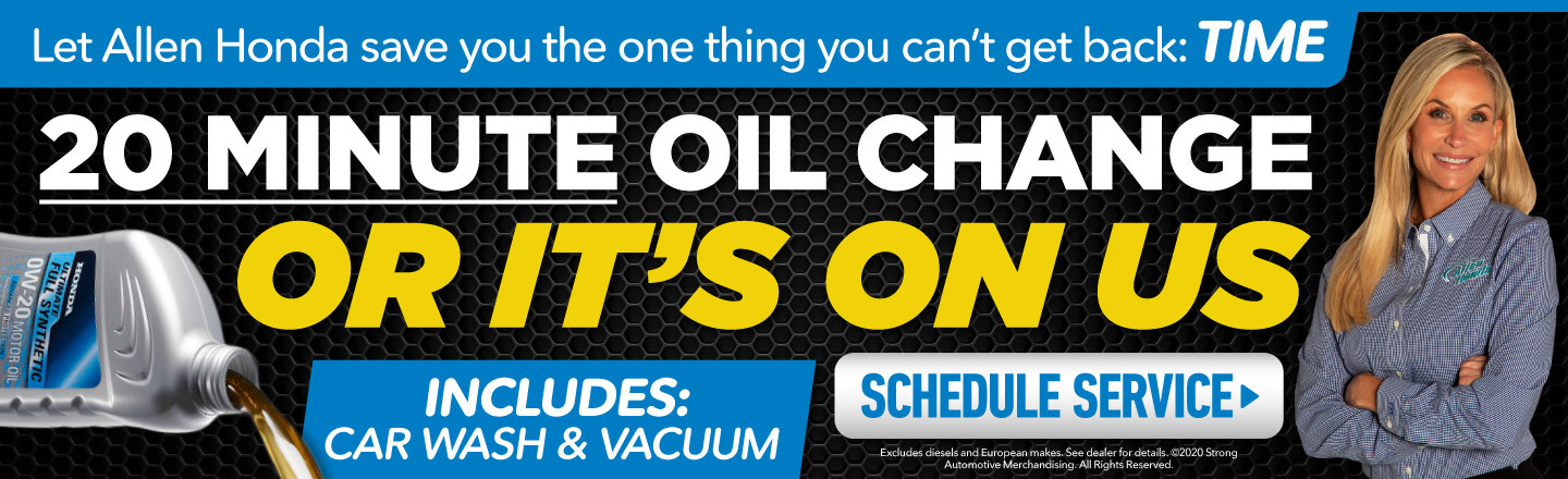 Oil Change Service Special in College Station, TX