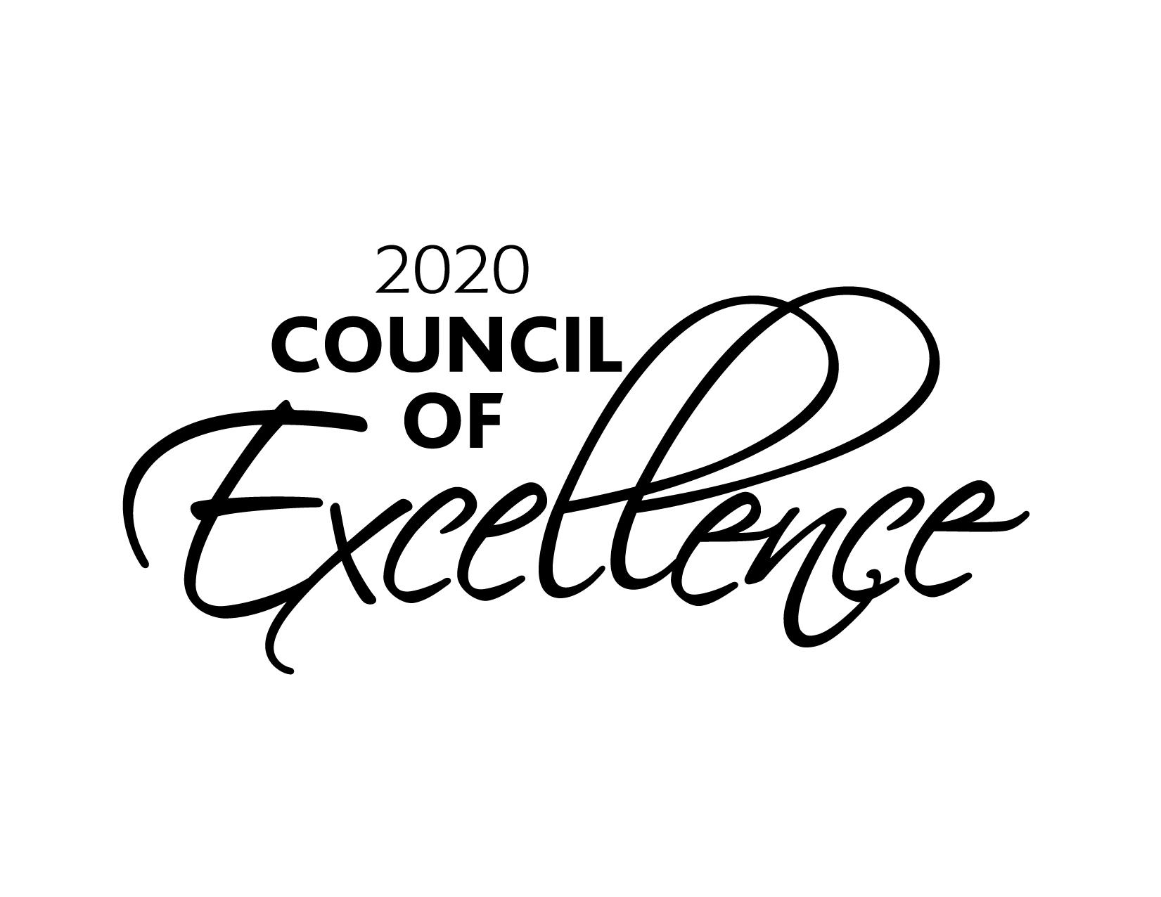 2020 Council of Excellence Logo