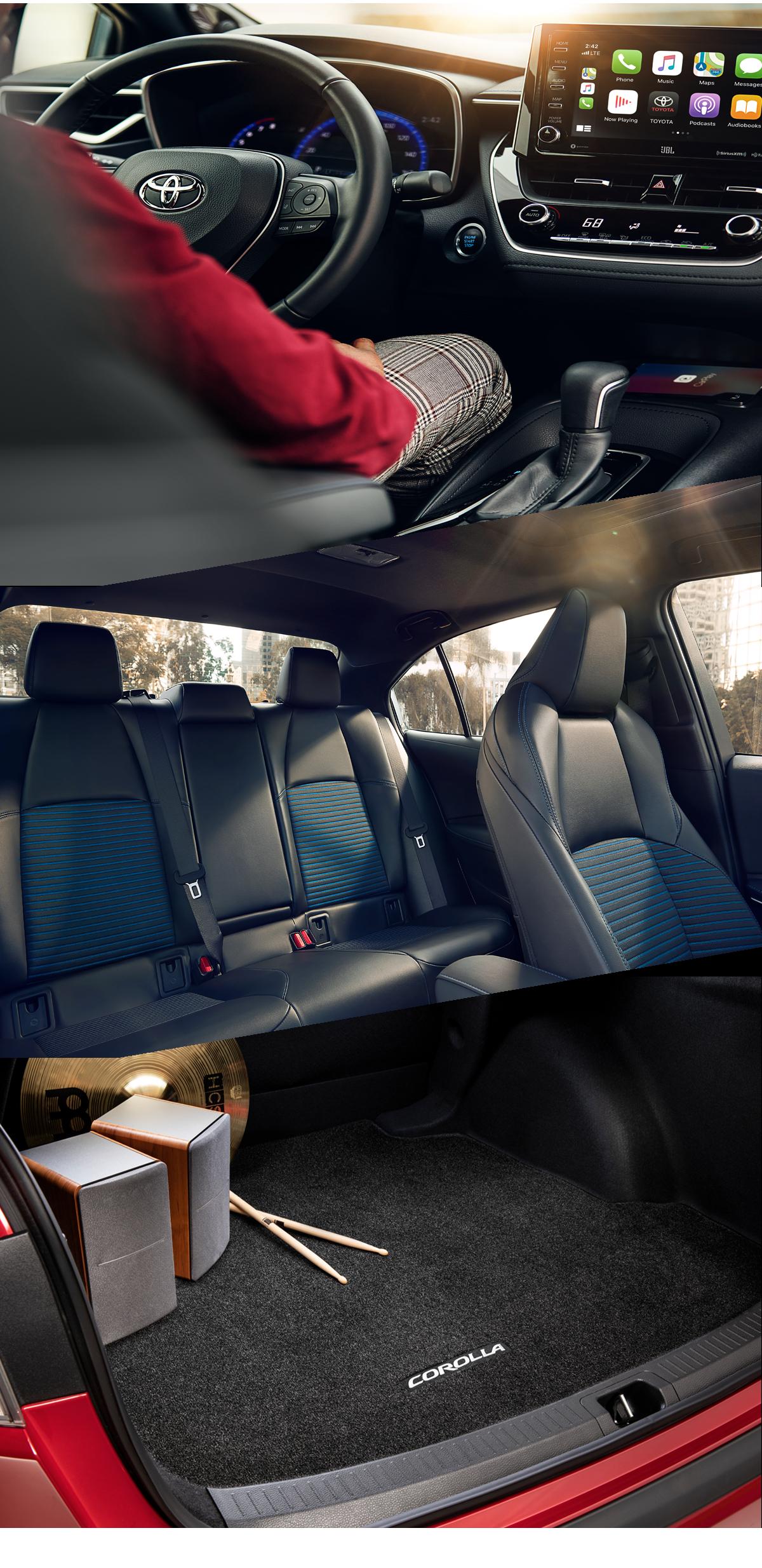 2021 Toyota Corolla Interior in Gullup, NM