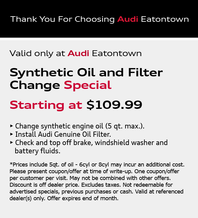 Audi eatontown inventory