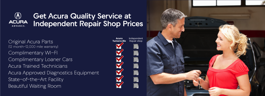 Get Acura Quality Service at Independent Repair Shop Prices