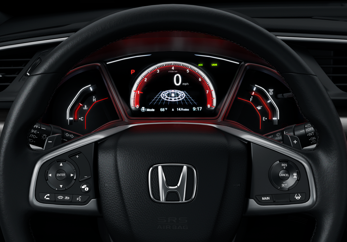2021 Honda Civic Safety Features