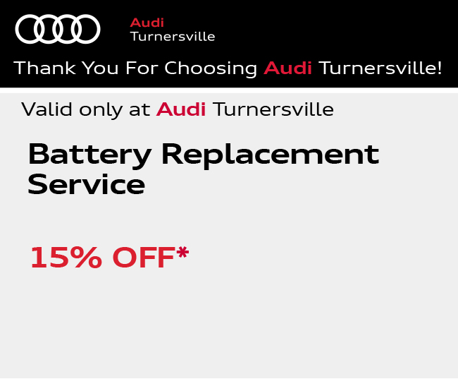 Valid only at Audi Turnersville. Tire Special$100.00 OFF* $100 AO Instant rebate*. Goodyear TiresBuy Four new tires and get up to a $75 PrePaid Mastercard Card**.