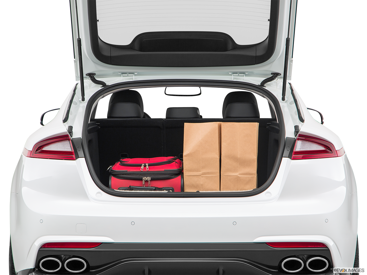 2019 Kia Stinger Cargo Space