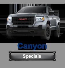 GMC Canyon Specials