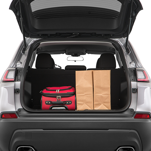 2019 Jeep Cherokee Cargo Space