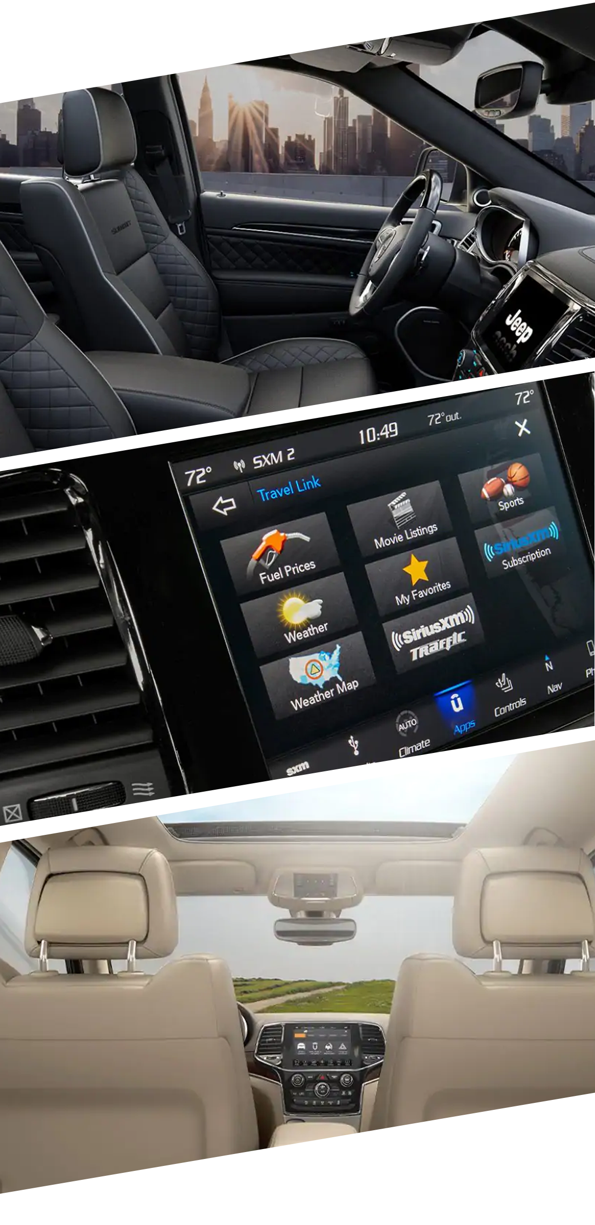 2021 Jeep Grand Cherokee Interior Images