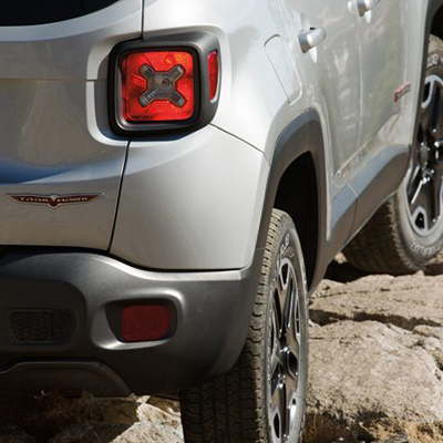 2018 Jeep Renegade Trunk Space