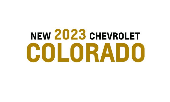 New 2021 Chevrolet Colorado