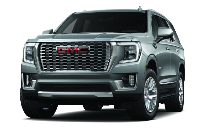 New 2021 GMC Yukon