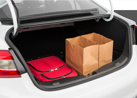 Chevy Cruze Cargo Space in Roanoke, VA