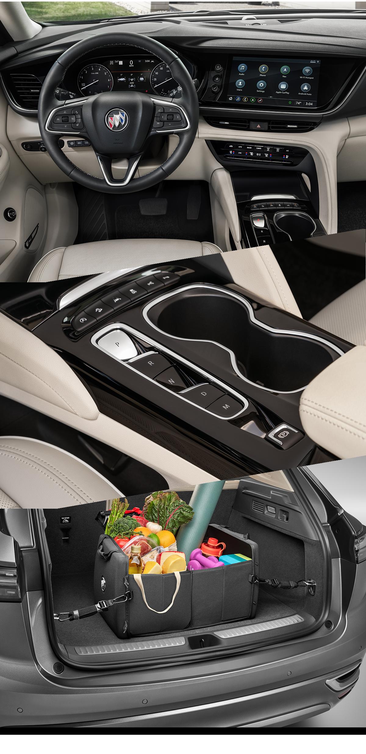 2021 Buick Envision Interior Images in Roanoke, VA