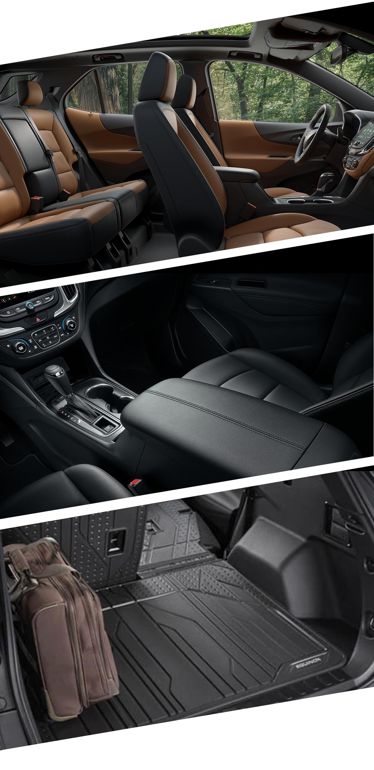2021 Chevrolet Equinox Interior Images in Roanoke, VA