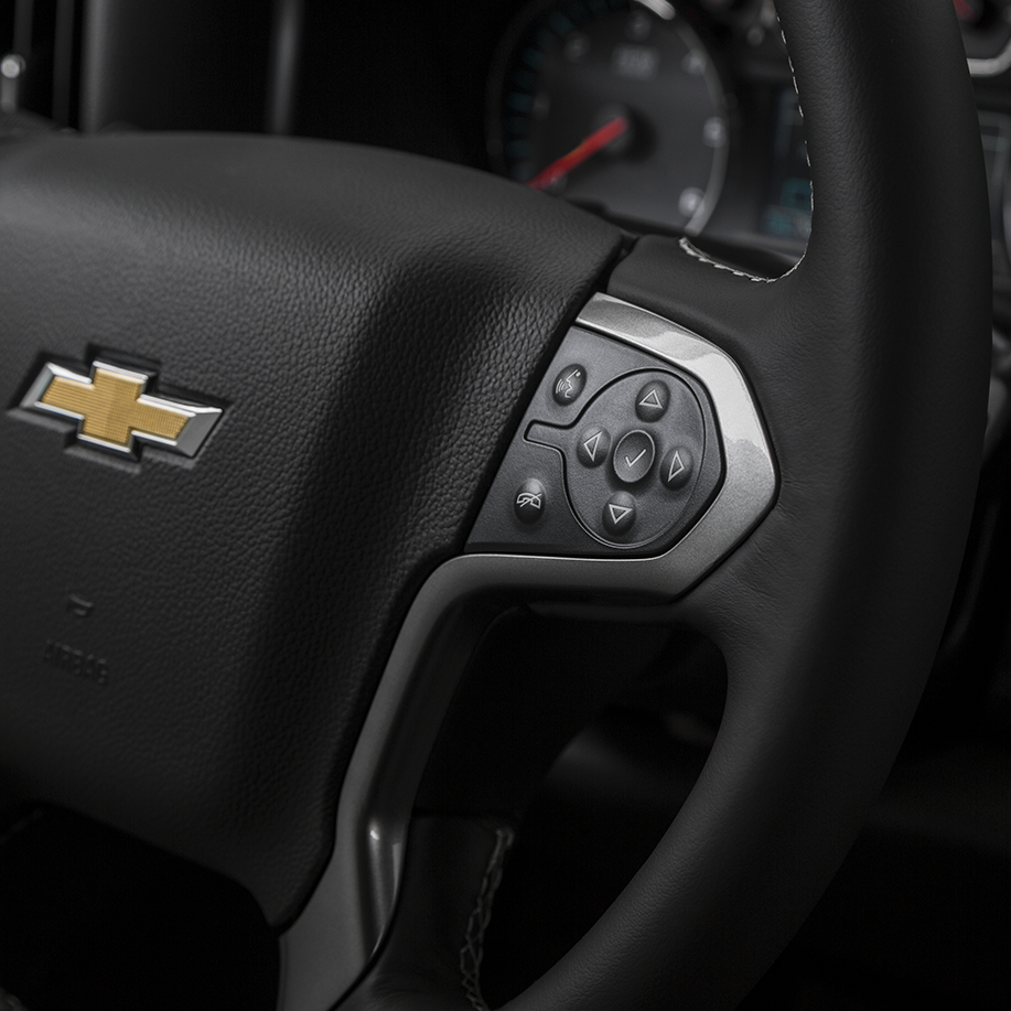 2017 Silverado Available Safety Features