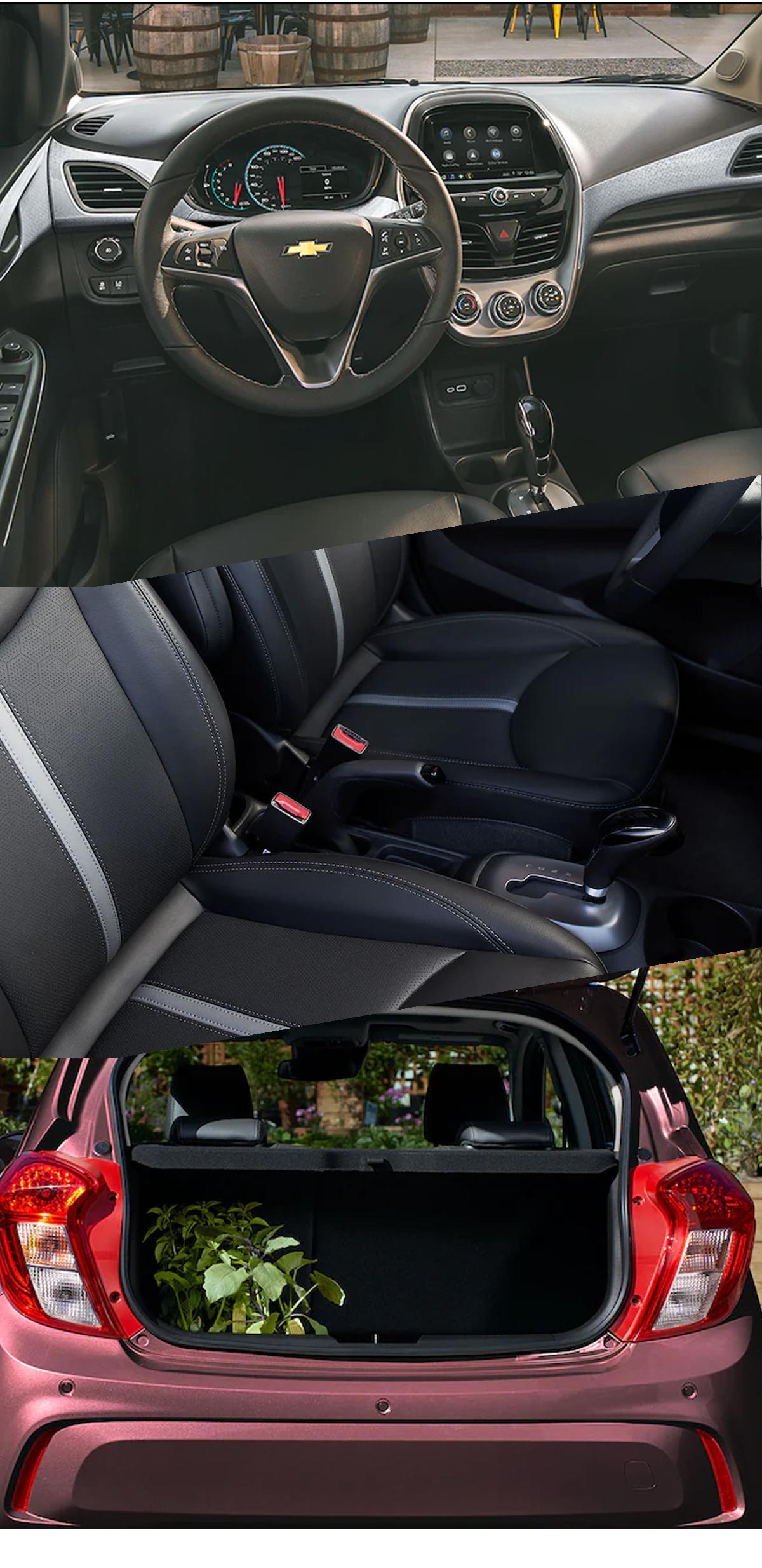 2021 Chevrolet Spark Interior Images in Roanoke, VA