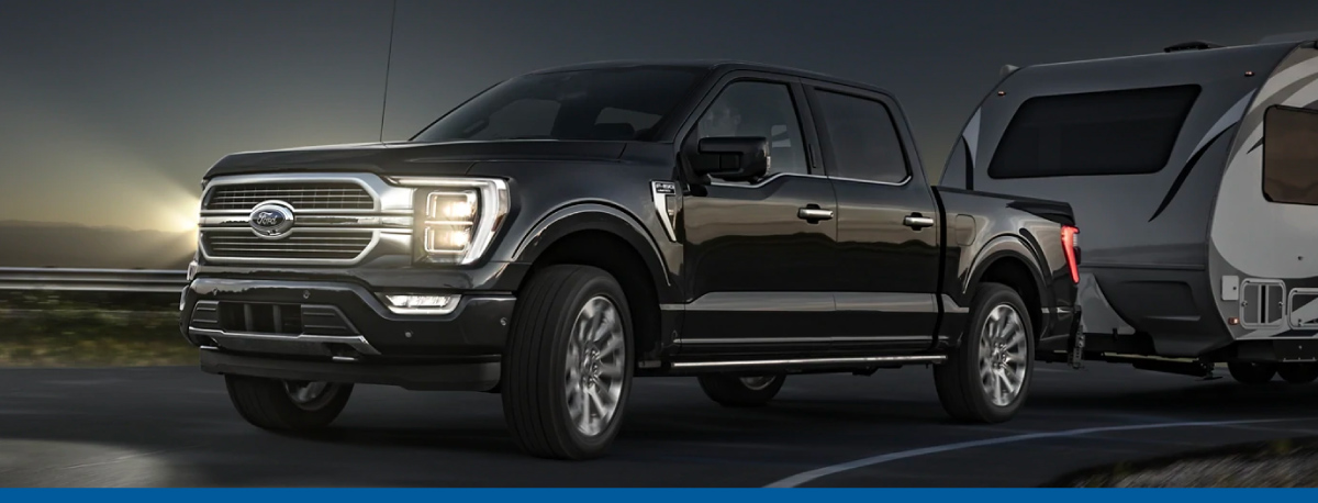 New 2021 Ford F-150 at Berglund Ford of Bedford