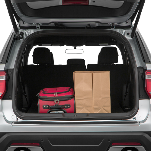 2019 Ford Explorer Trunk