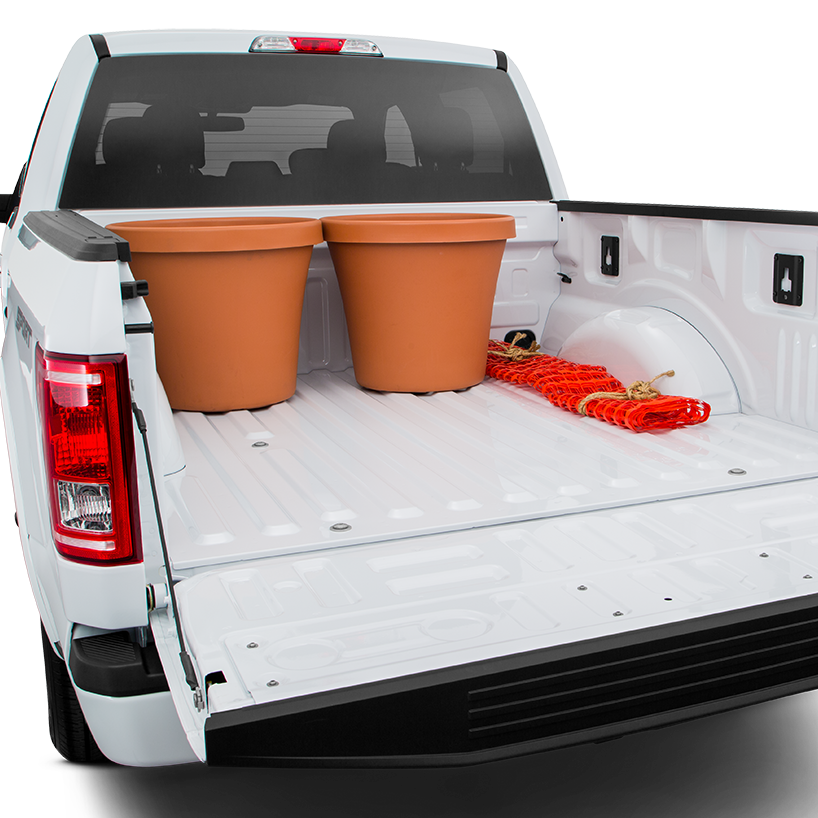 2016 Ford F-150 Trunk space