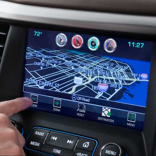 2019 GMC Acadia Technology Features