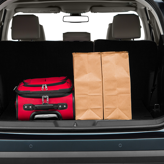 2016 Ford Explorer Trunk Space