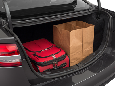 2020 Ford Fusion Trunk space