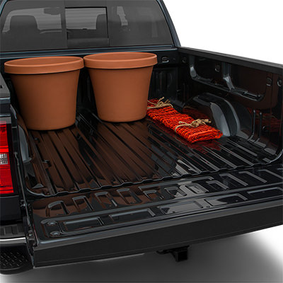 2018 GMC Sierra 1500 Trunk Space