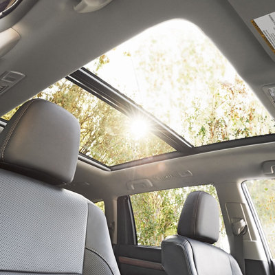 Toyota Highlander Sunroof