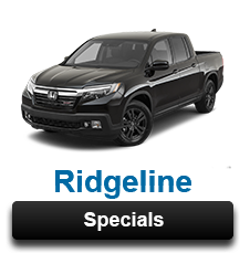 Honda Ridgeline Specials Greenville, NC