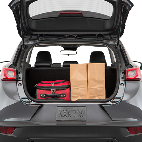 2019 Mazda CX-3 Trunk Space