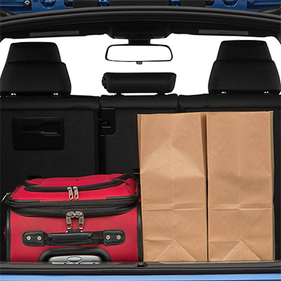 2018 BMW 3 Series Trunk Space