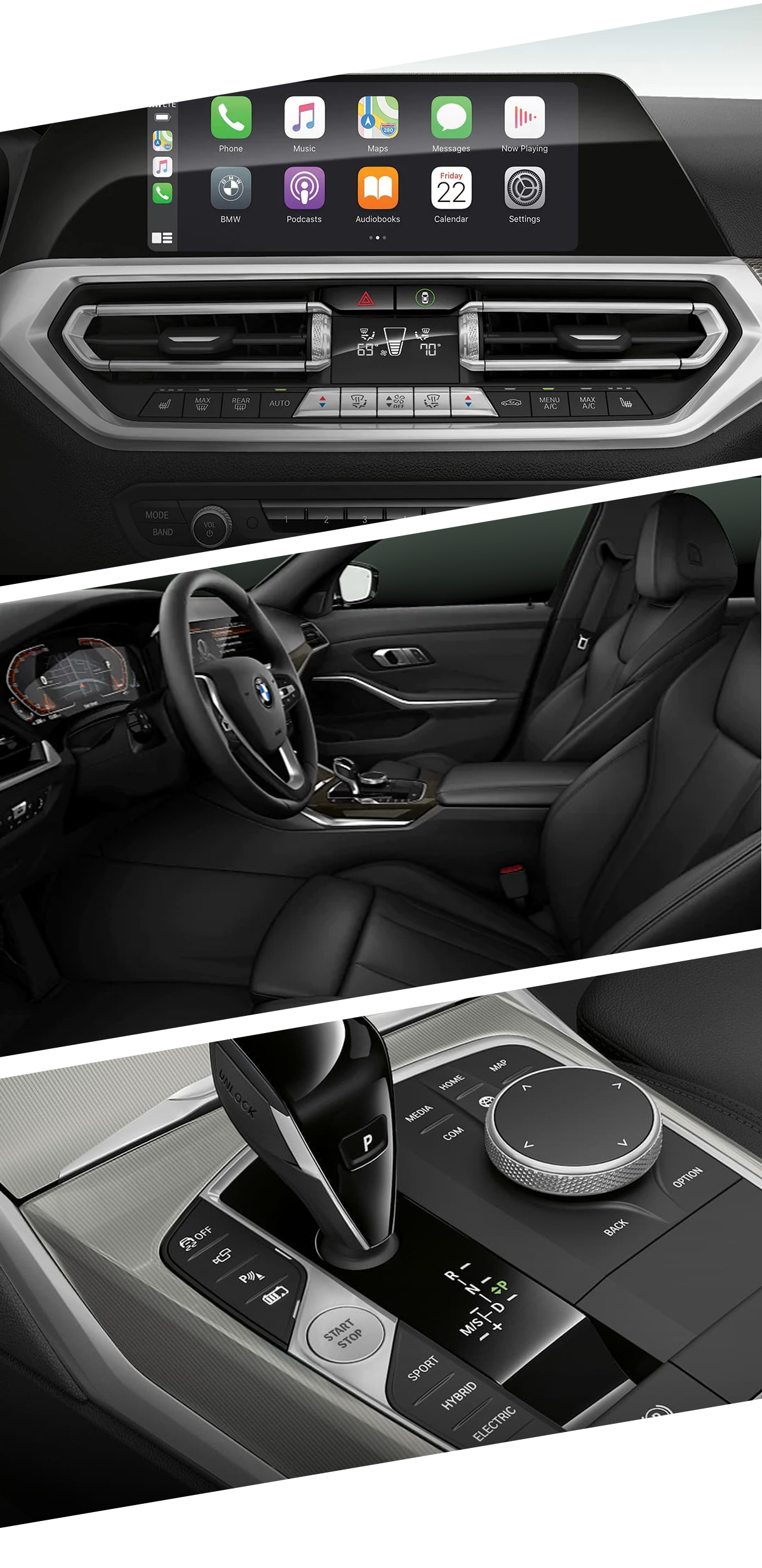 2021 BMW 3 Series Interior Images