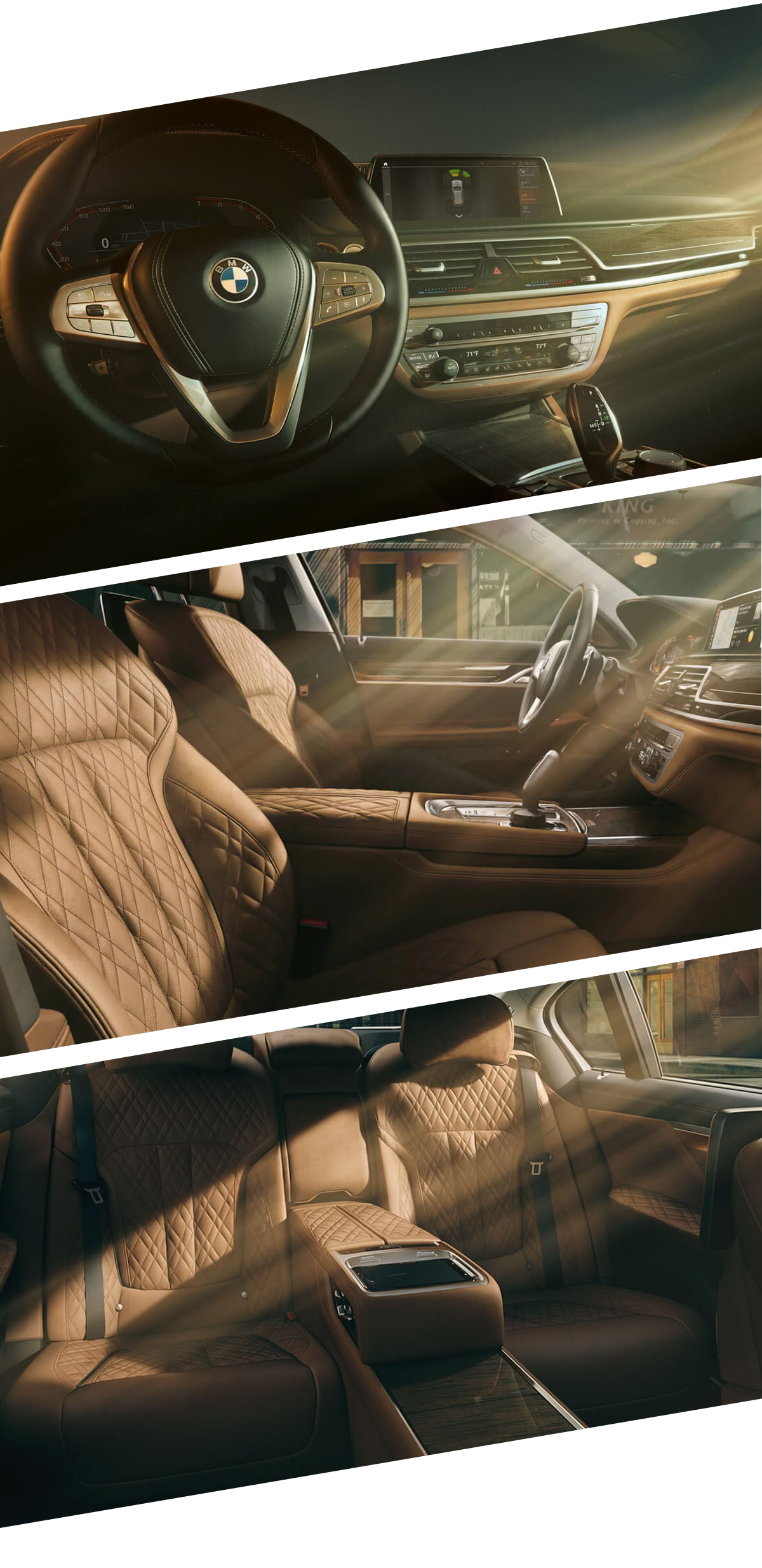 2021 BMW 7 Series Interior Images