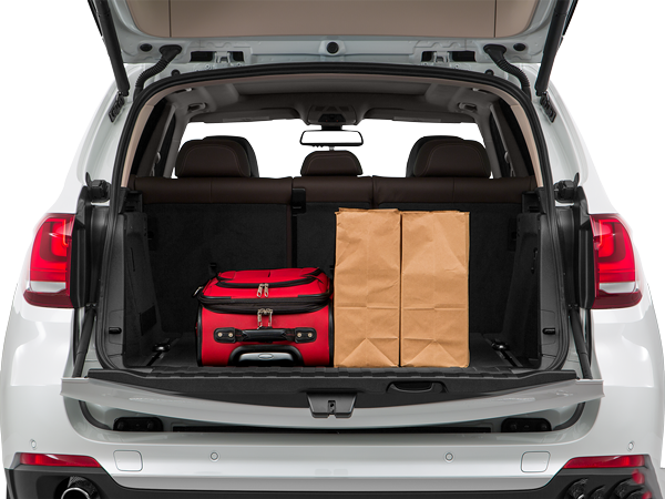 2016 BMW X5 Trunk Space