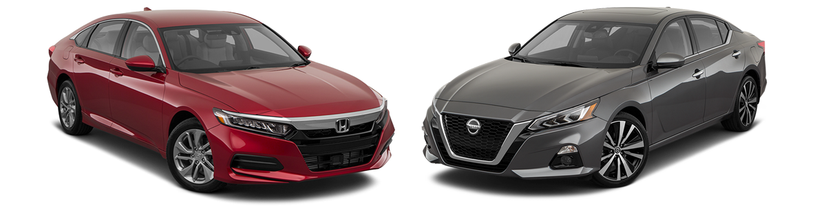 2019 Honda Accord vs Nissan Altima