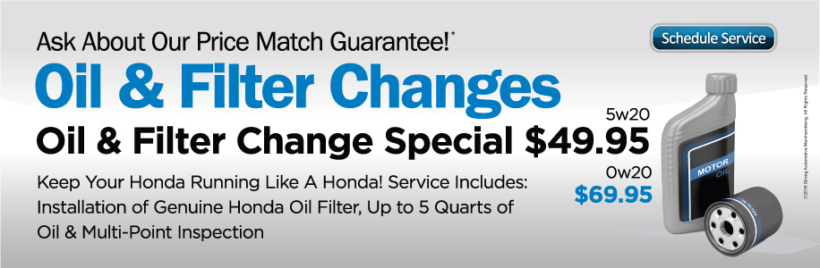 Brannon Honda Oil Change