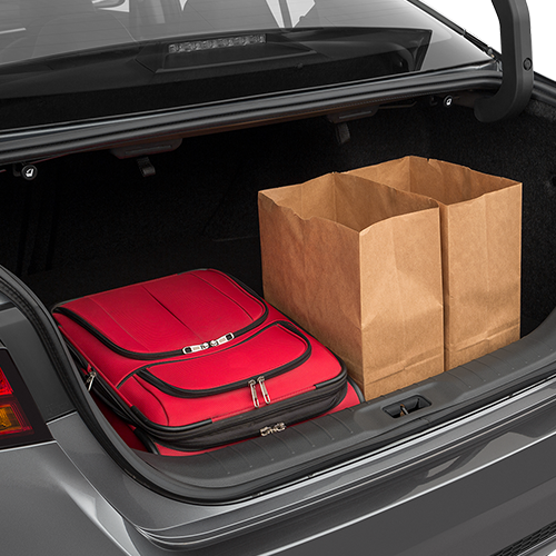 Nissan Altima Trunk space