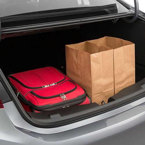 Chevrolet Cruze Trunk space