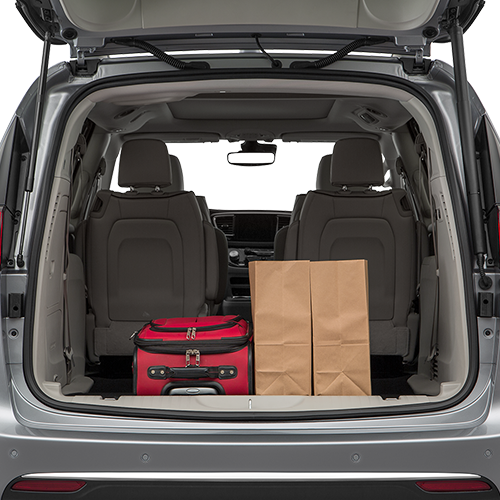 2019 Pacifica Trunk space