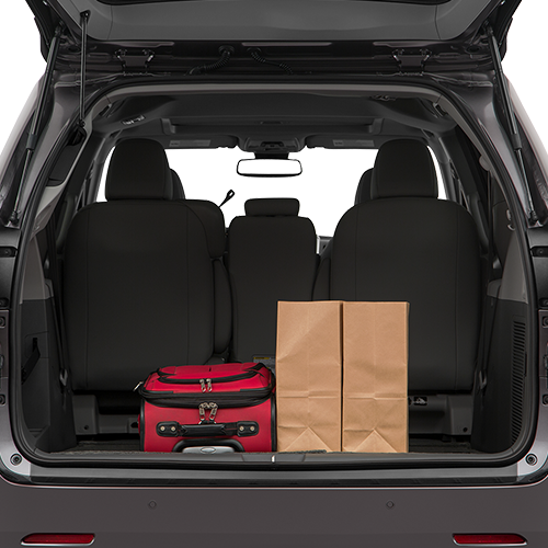 2019 Sienna Trunk space
