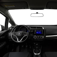 Honda Fit Interior Features