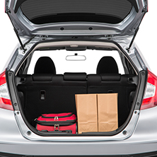 Honda Fit Cargo Space