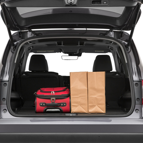 2019 Honda Pilot Trunk space