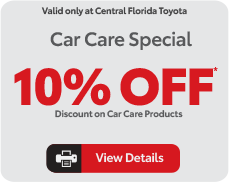 car care specials, view details