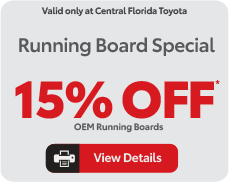 running board specials, view details