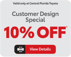 customer design special, view details