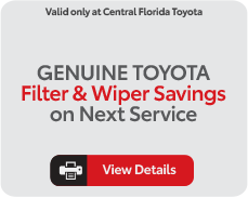 genuine toyota filter and wiper special, view details
