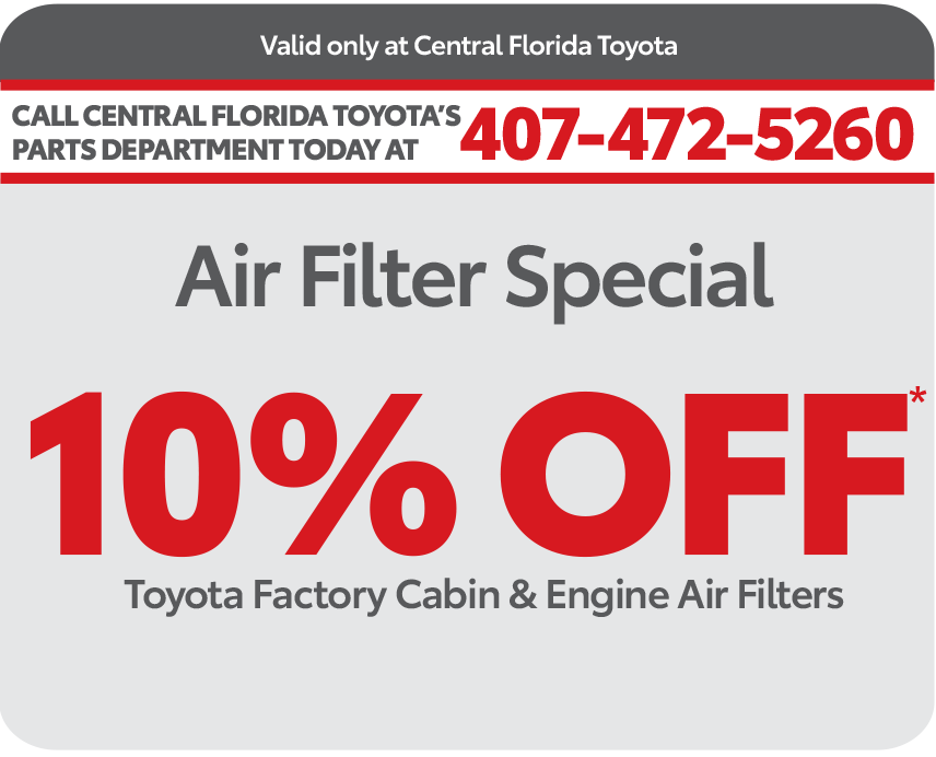Central Florida Parts Coupon - Print